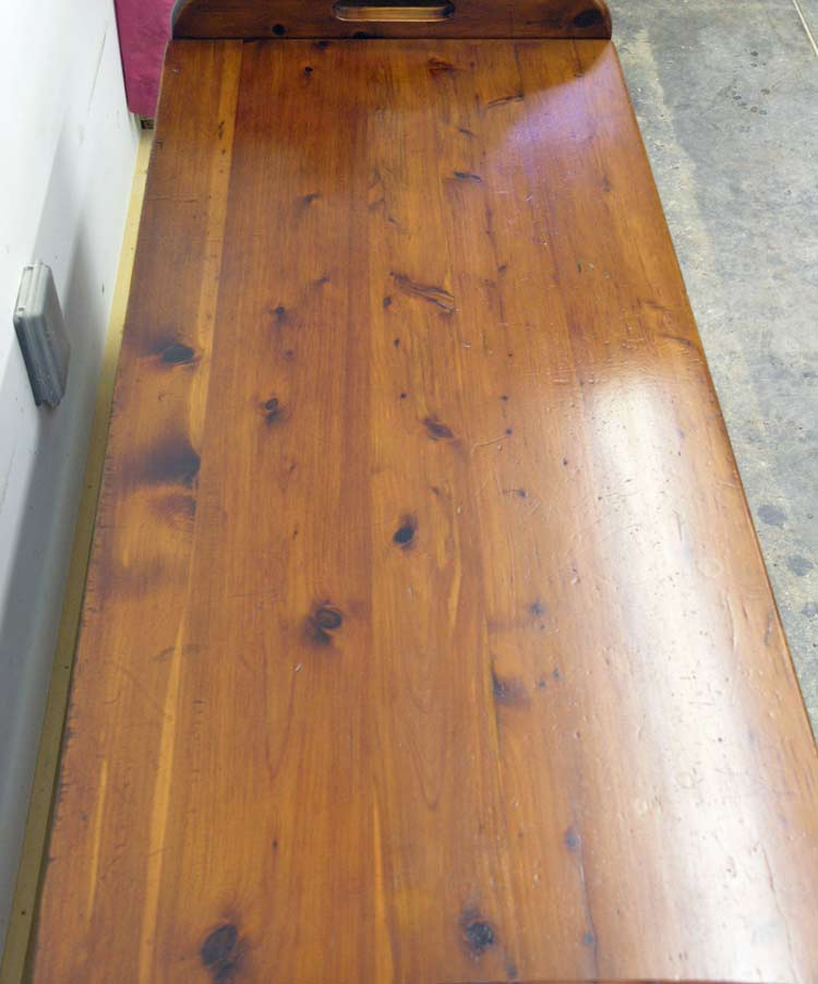 Cedar chest top reconditioned