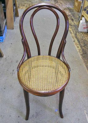 Bentwood chair after restoration