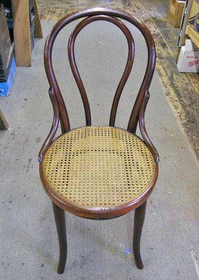 Bentwood chair after restoration