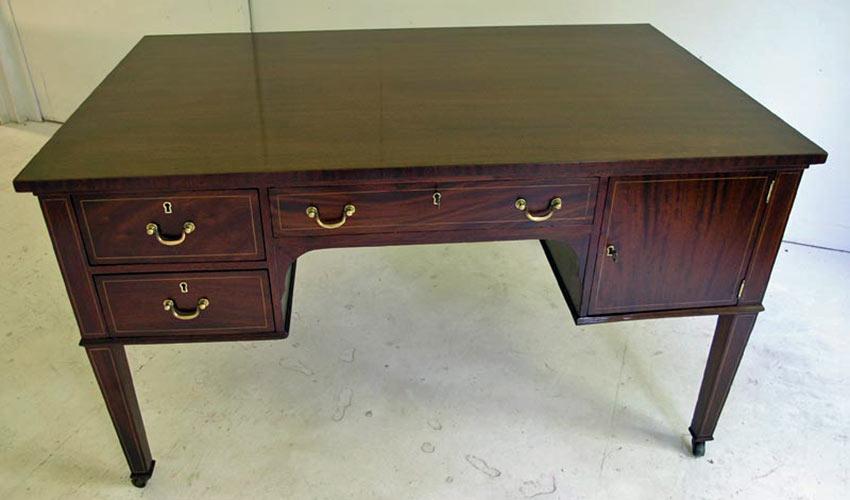 Partners desk after refinishing