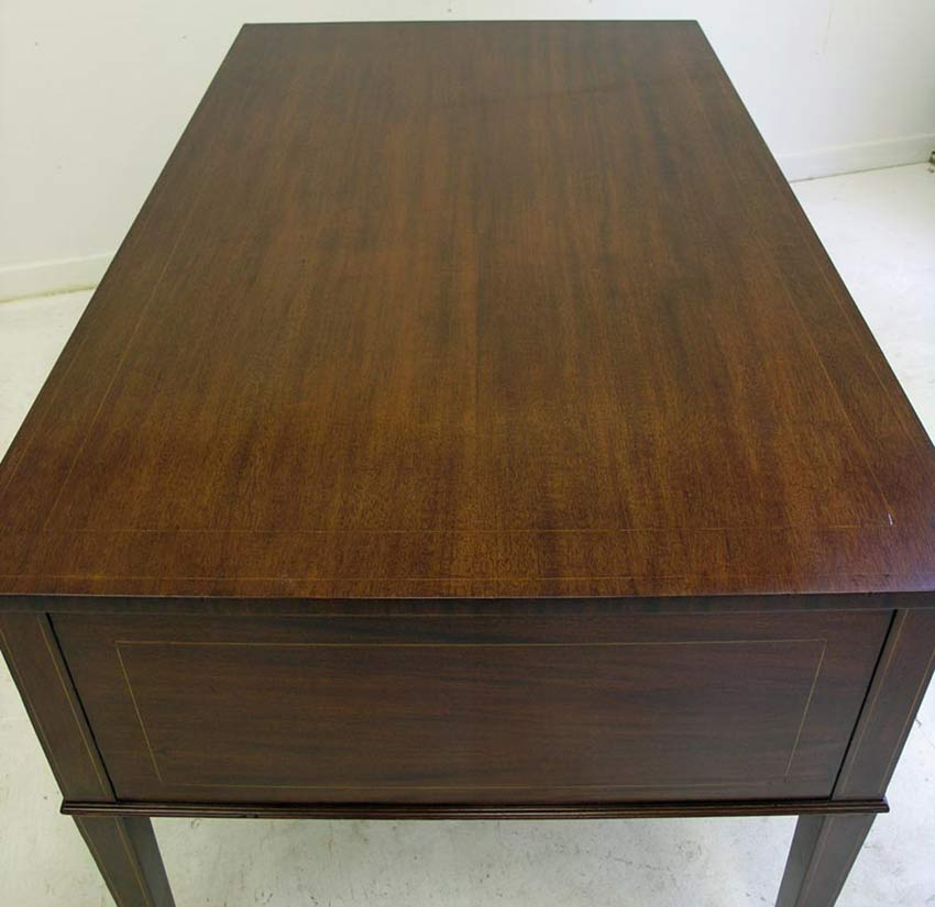 Refinished top of partners desk