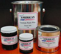 American Custom Paste Wax 4 sizes